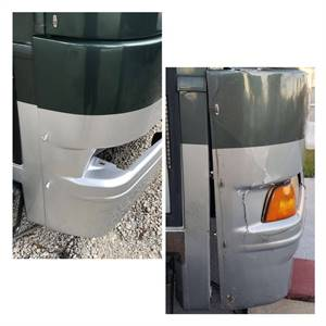 Motorcoach Coating & Shield Removal